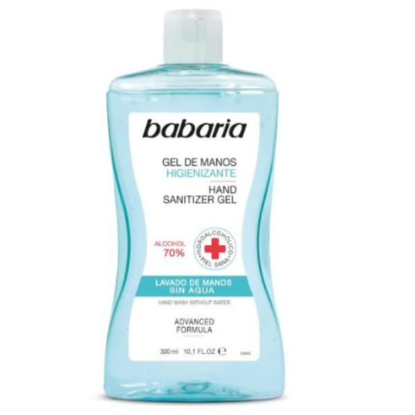 Babaria gel higienizante manos 300 ml